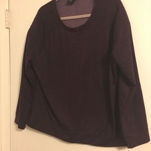 32 DEGREES Purple Sweatshirt